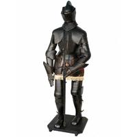 Armure médiévale chevalier noir 192 cm Montfort