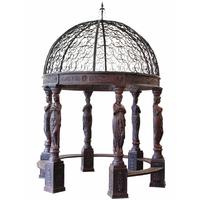 Gloriette style Empire en fonte 420 cm