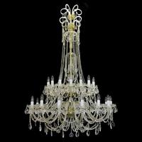 Lustre baroque en cristal de Bohême Wranovsky Princesse