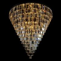Suspension moderne en cristal de Bohême Wranovsky Porto 16 feux