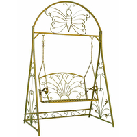 Mobilier et d coration de jardin bancs de jardin et balancelles classic s - Fer forge en anglais ...