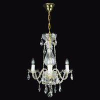 Lustre baroque en cristal de Bohême Wranovsky De Luxe
