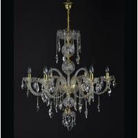 Lustre baroque en cristal de Bohême Wranovsky Elegance 6 feux