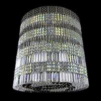 Suspension en cristal de Bohême Wranovsky Circulo 16 feux