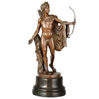 Statue en bronze Apollon 42 cm