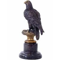 Statue en bronze aigle royal 34 cm