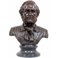 Buste en bronze Richard Wagner 50 cm