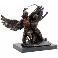 Statue en bronze Apollon et Daphné 35 cm