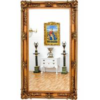 Miroir baroque en bois doré 218x126cm Cheverny
