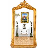 Miroir baroque style Louis XV en bois doré 178x110cm Balleroy