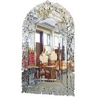 Miroir baroque vénitien 144x86cm Basilio