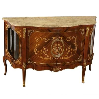 Buffet-marqueterie-Louis-XV