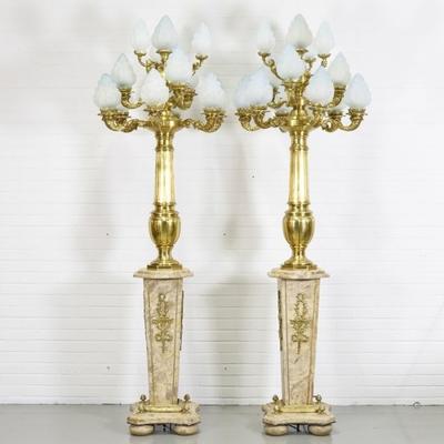 Lampadaire-royale-marbre