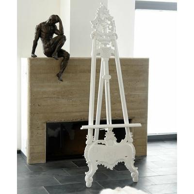 Chevalet-baroque-blanc