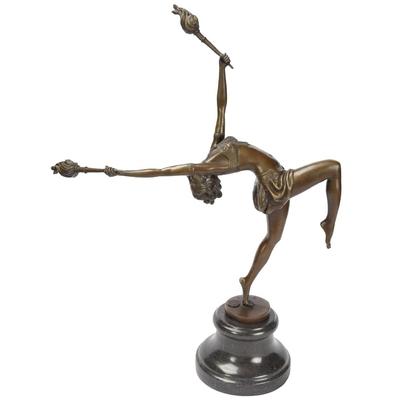 Statue-bronze-danseuse