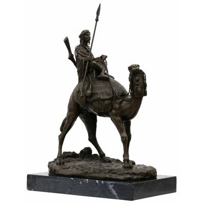 Statue-bronze-bedouin