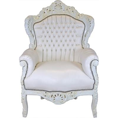 fauteuil-rococo-blanc