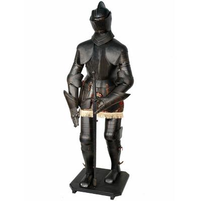 Armure-chevalier-noir