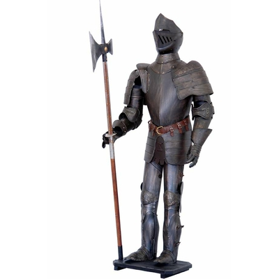 Armure-médiévale-hallebardier