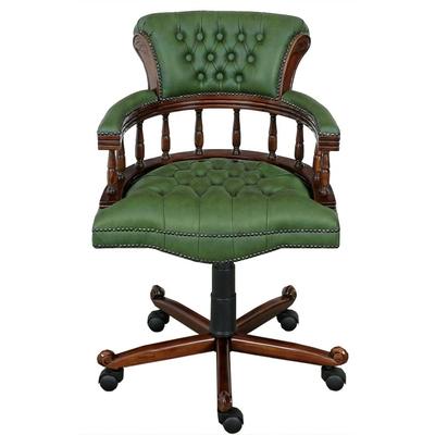 fauteuil-bureau-acajou-chesterfield