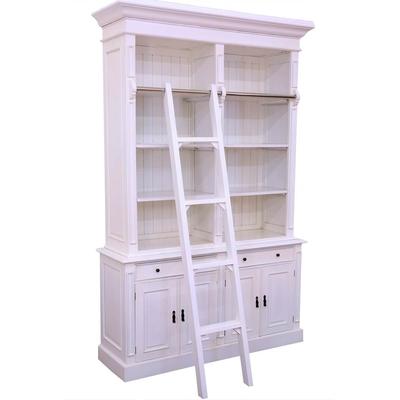 Bibliotheque-echelle-blanc