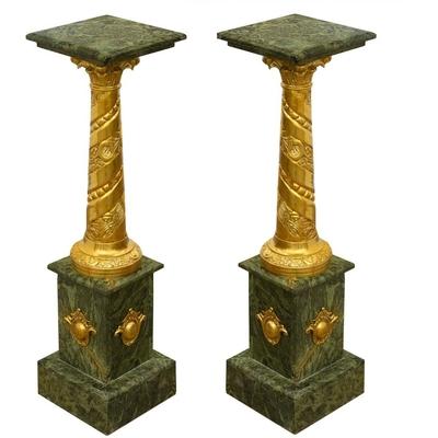 colonnes-marbre-vert