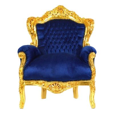 trone-baroque-bleu-dore