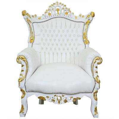 fauteuil-rococo-blanc-dore