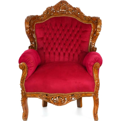 Fauteuil-rococo-rouge