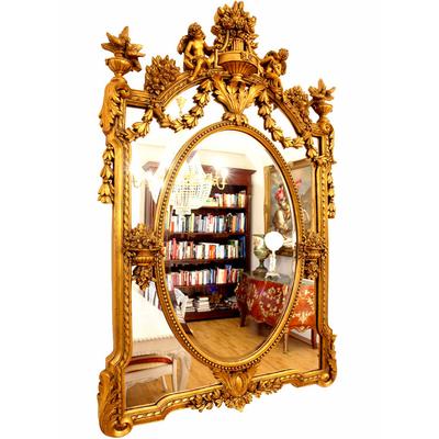 Miroir-rococo-doré-DG45