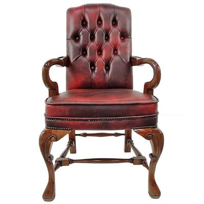 fauteuil-queen-anne-acajou