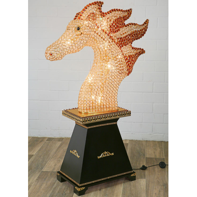 Lampe-pied-cheval-cristal