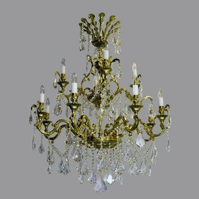 Lustre-cristal-Boheme-royal