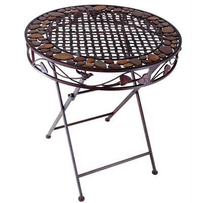 Table-fer-forgé-brun