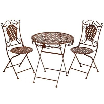 chaise antique fer forgé
