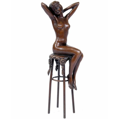 Statue-bronze-art-deco