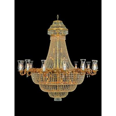 lustre-napoléon-cristal-malmaison
