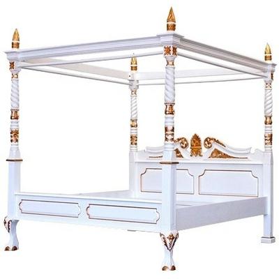 lit-badaquin-royal-blanc-dore