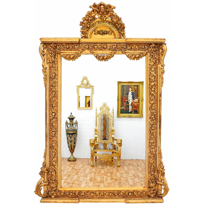 Miroir-Louis-XVI-dore