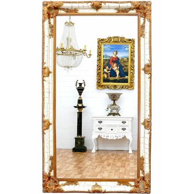 Miroir-baroque-blanc-dore