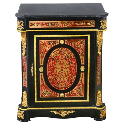 Buffet-Boulle-marqueterie