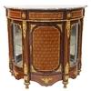 Buffet royal de style Louis XVI en marqueterie noyer Versailles