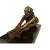 Statue-bronze-femme-nue-a