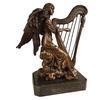 Statue-bronze-harpe