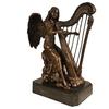 Statue-bronze-harpe-d