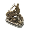 Statue-bronze-chasse-cerf-a