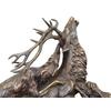 Statue-bronze-chasse-cerf-b
