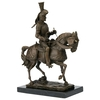 Statue-bronze-chevalier-a