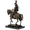 Statue-bronze-chevalier-b