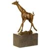 Statue-bronze-girafe-b